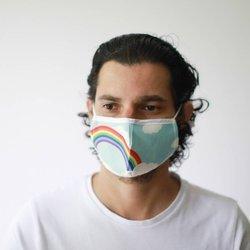 Modische Schutzmaske - Regenbogen