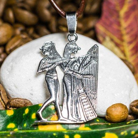Ägyptische Tänzerin Talisman aus Silber 925