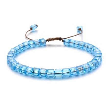 Blau Kristall Armband ZMZY