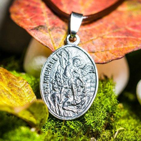 Erzengel Michael Talisman - Medaillon aus Silber 925