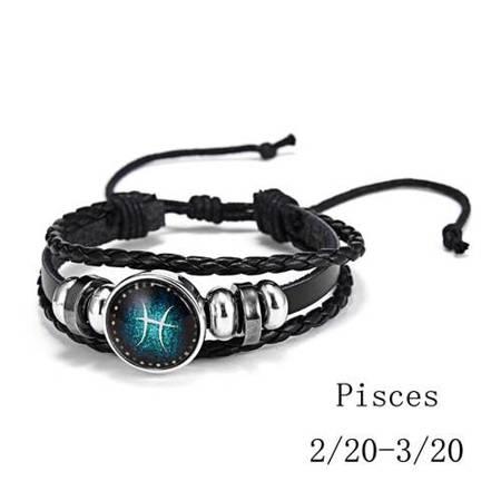 Fische - Armband mit Sternzeichen