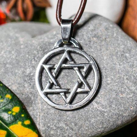 Hexagramm 2,3cm Talisman aus Silber 925