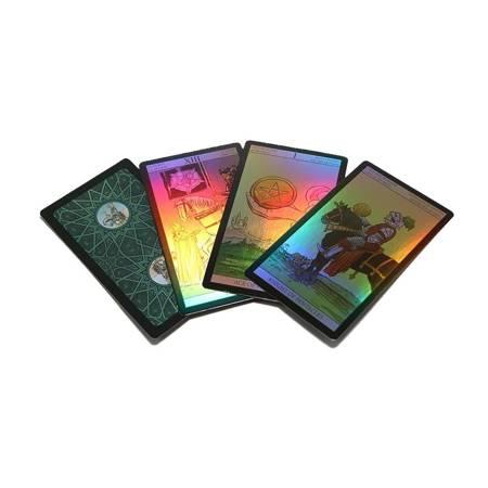 Holographisches Tarot Deck - Mehrsprachig