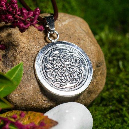 Keltischer Knoten Medaillon