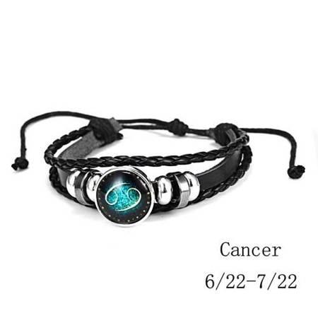 Krebs - Armband mit Sternzeichen