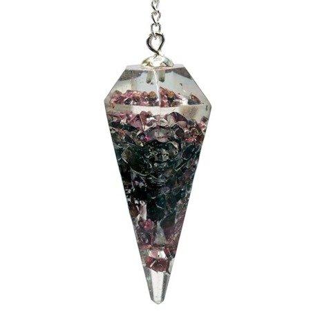 Orgonit Pendel aus Granat