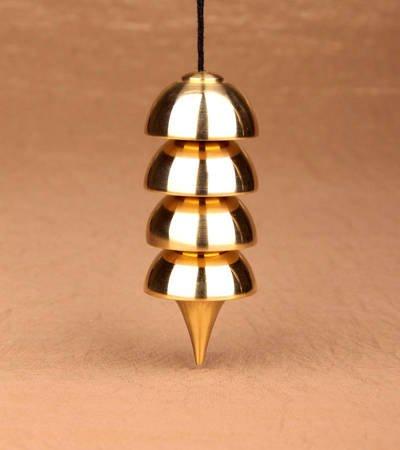 Osiris Pendel 4cm - Messing