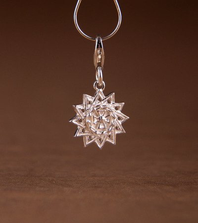 Stern des Archgamas Charms aus Silber 925